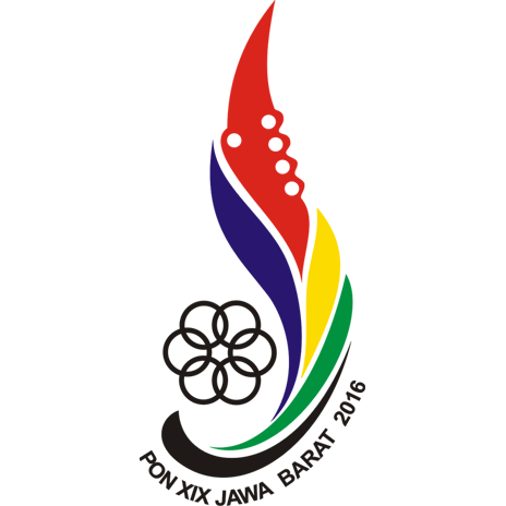 Logo Resmi PON XIX Jabar 2016 - Makna Logo PON Jabar 2016