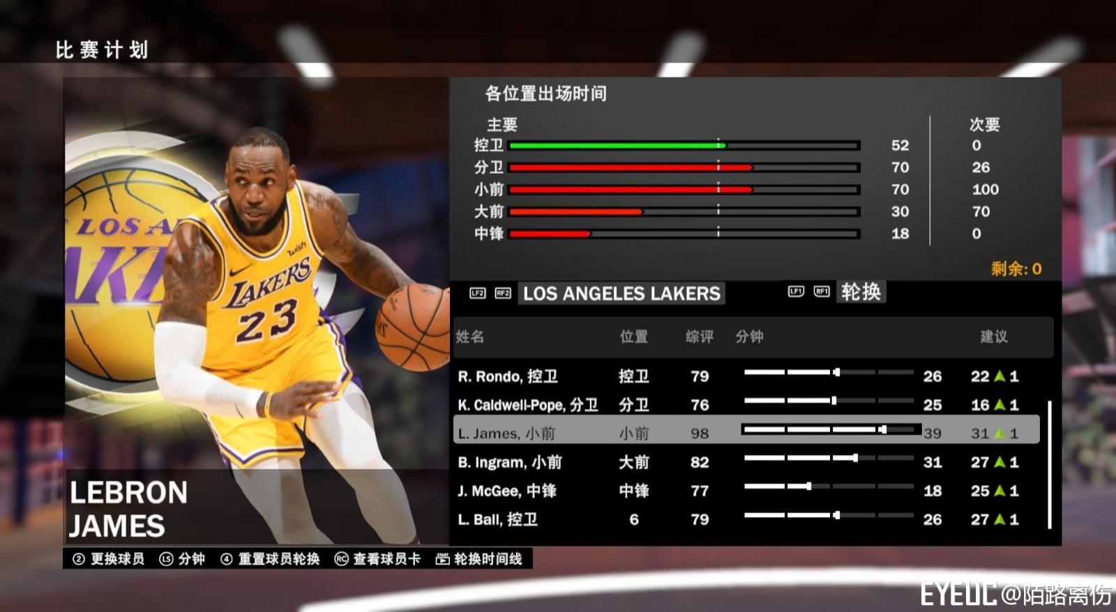fd6a348d9cd NBA 2K19 - LeBron James Portrait Update (Los Angeles Lakers ...