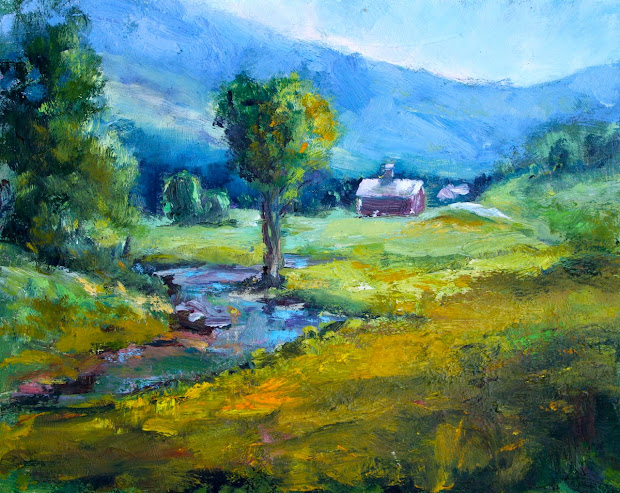 Vermont Art Zine Jericho Barn Paint - Call