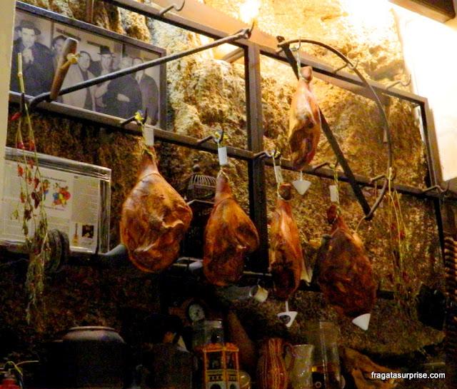 Restaurante Quelha, em Amarante, Portugal