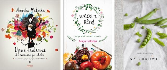 Wegan Nerd, White Plate, Lubię gotować - książki kulinarne.
