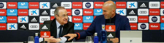Oficial : Zinedine Zidane deja el Real Madrid