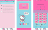 Oppo Theme: Oppo Hello Kitty Shopaholic Theme