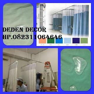 Gorden Rumah Sakit anti Bakteri-DEDEN DECOR