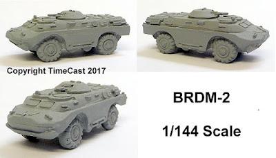 BRDM-2 Reconnaissance Vehicle