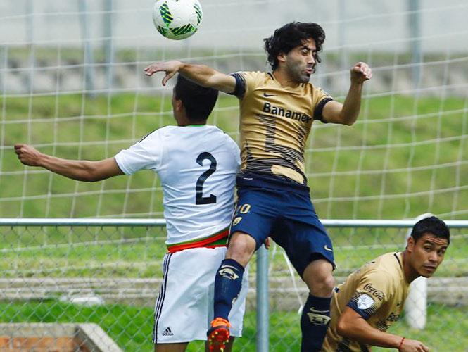 Tri Sub-23 gana 2-1 a Pumas en duelo amistoso
