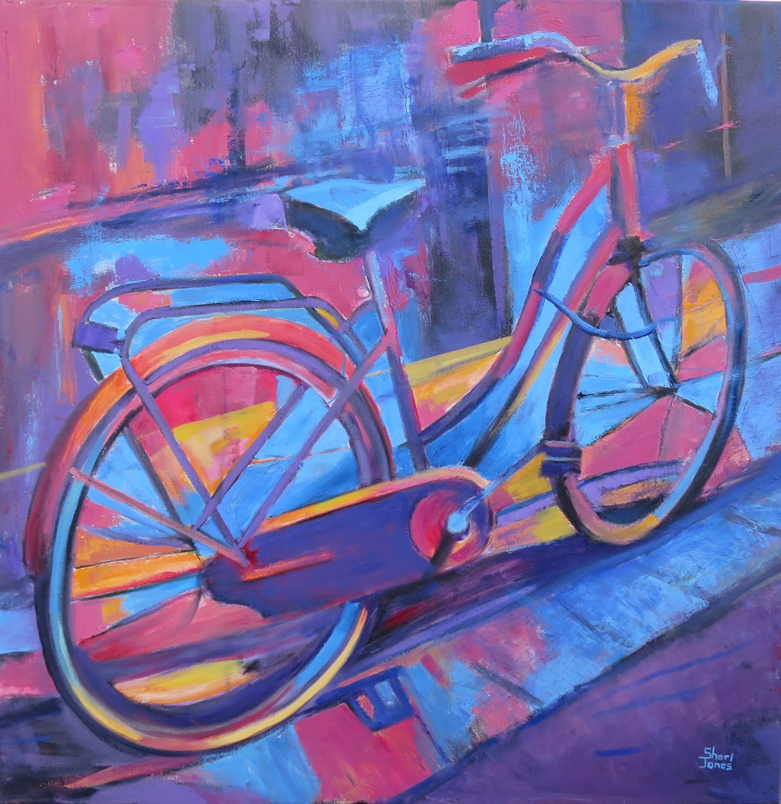 Daily painters of texas for Bicycle painting near me