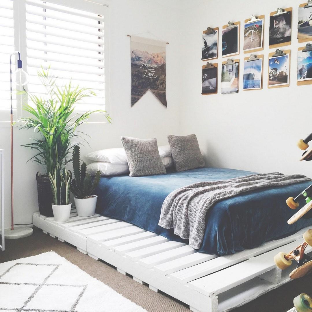 Desain Kamar Tidur Sederhana Untuk Ruangan Sempit