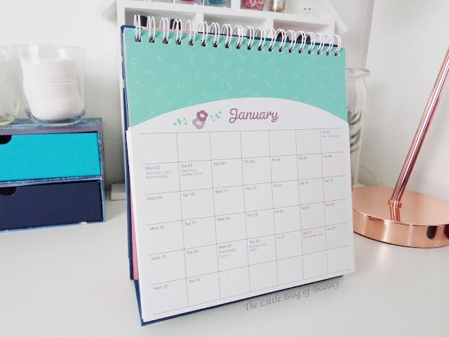 Busy B Desktop calendar