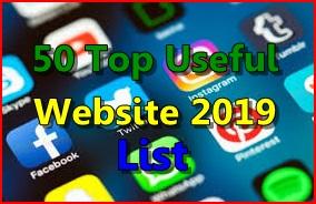 50 Top Useful Website 2019 || Ye website apke bahut hi kam aayegi