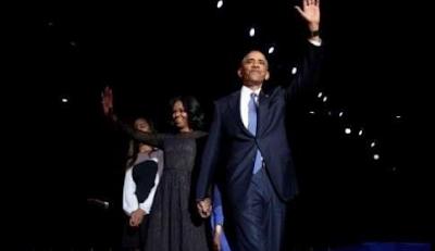 Obama Sampaikan Pidato Perpisahan