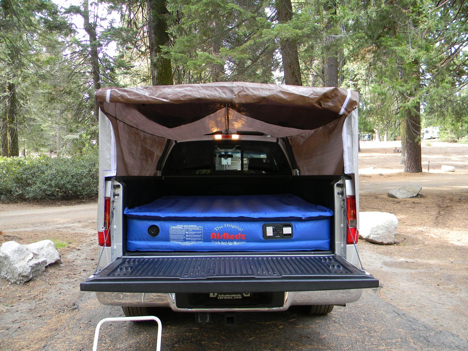 Avalanche Roof Rack pickup truck bed camping tents