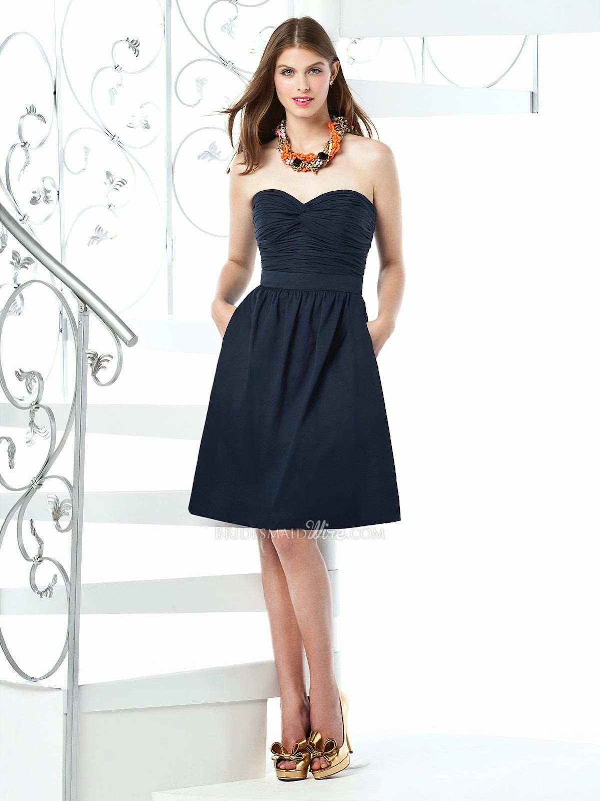 Midnight Bridesmaid Dresses ~ Bridesmaid Designers
