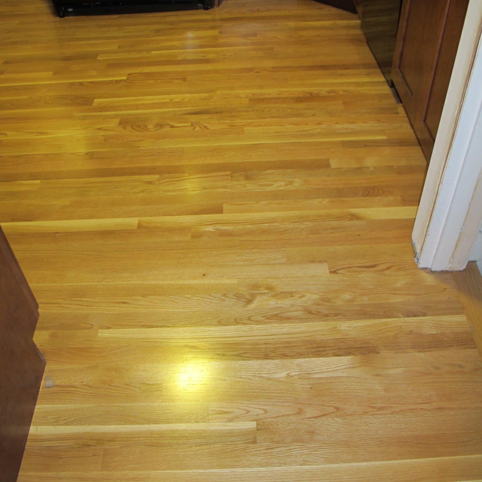 Hardwood Floors Match Kitchen Floors