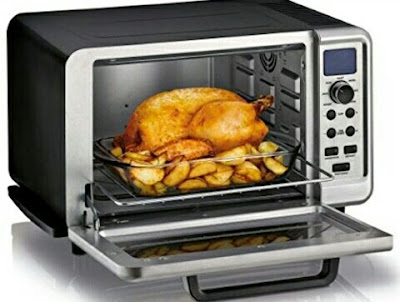 KRUPS Oven Toaster: Programmable Countertop Cooker