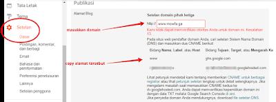 tutorial pasang domain gratis freenom