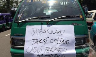 Pemerintah dan Sopir Angkot Bandung Sepakati Tiga Poin Soal Taksi Online