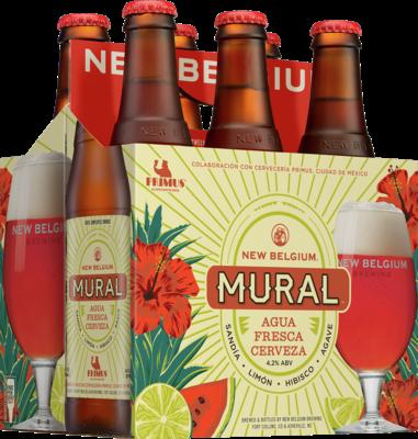 new belgium brewing announces mural agua fresca cerveza mybeerbuzz