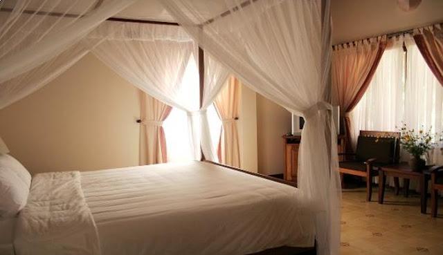 Phòng ngủ trong các khu villa