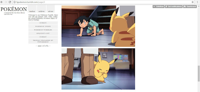 15 Pokemon Tumblrs You Should Be Following If You Love Pokemon! ash fall pikachu laughs