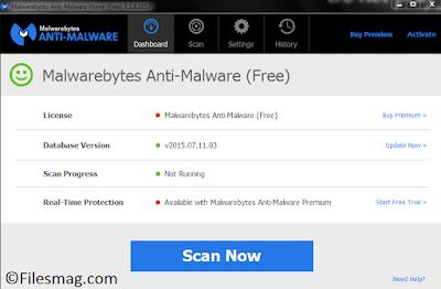 Malwarebytes Anti-Malware Premium 2015