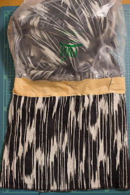 DIY Dyed Hem Dress Tutorial