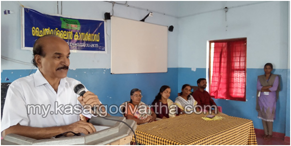 News, Kerala, Students, Kasaragod, Child Line Awareness class conducted
