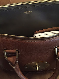 Knomo Bond purse andMulberry Small Del Rey