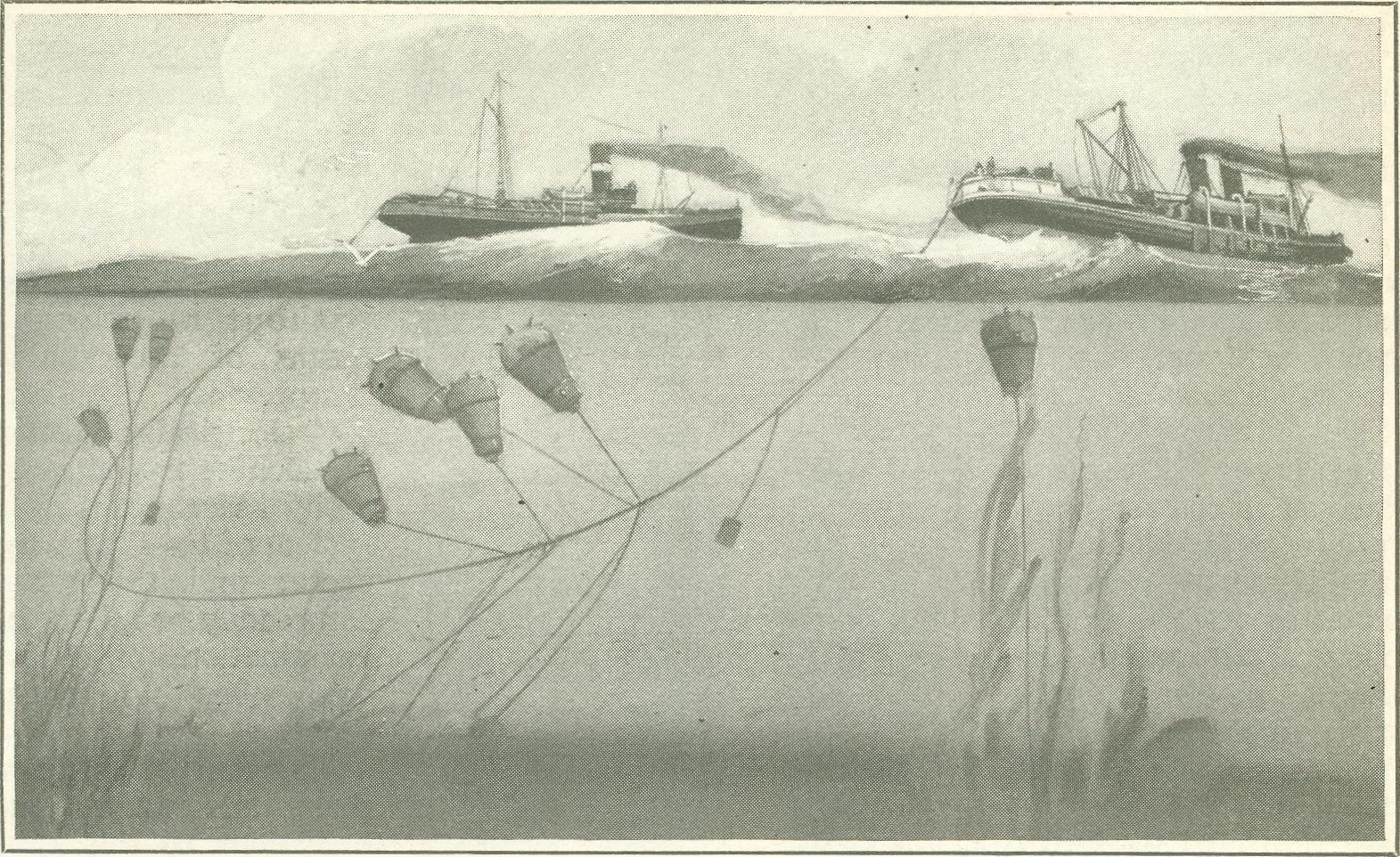 Digital History Project Submarine Mines In World War I