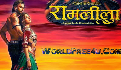 Poster Of RamLeela (2013) All Full Music Video Songs Free Download Watch Online At worldfree4u.com