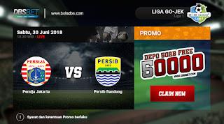 persija vs persib liga indonesia 30 juni 2018