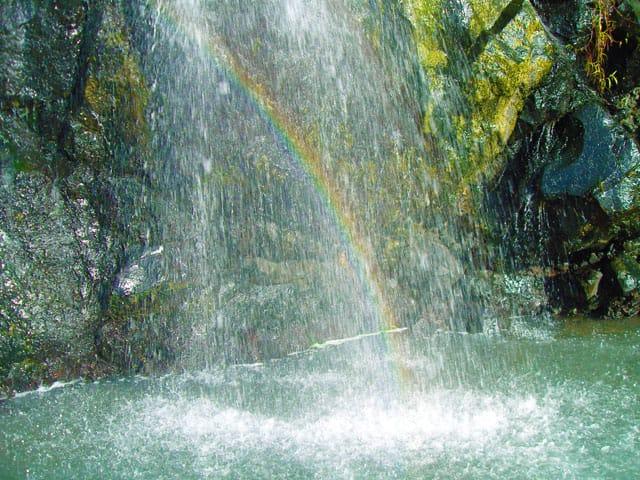 Rainbow at Bugsukan Waterfalls