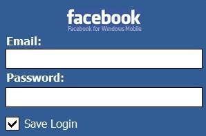 Desktop Facebook Login