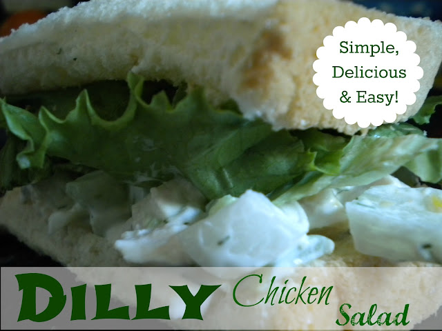 Delicious Dilly Chicken Salad