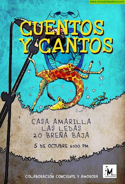 CASA AMARILLA: Cuentos, Cantos y Concierto