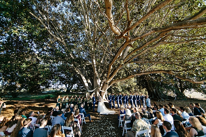 Private Greenhouse Wedding In Santa Barbara Southern