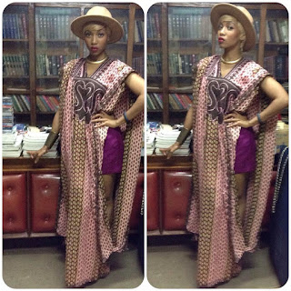 Lace Agbada styles for Nigerian ladies