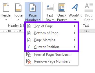 Langkah-langkah Membuat Nomor Halaman di Word