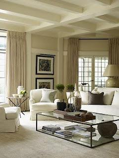 Decoración sala elegante