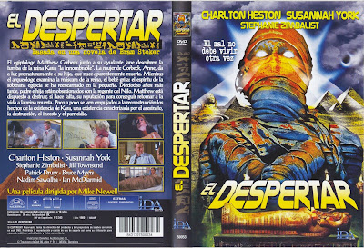 Carátula dvd: El despertar (1980) (The Awakening)