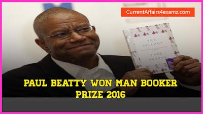 Man Booker prize 2016