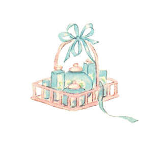 baby care products illustration image