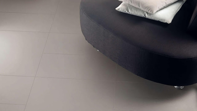 Color of tiles for flooring with color effects of SOLID COLORS collection