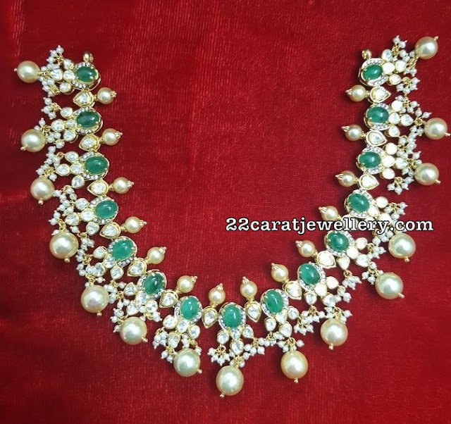 Pota Emerald Pachi Necklace