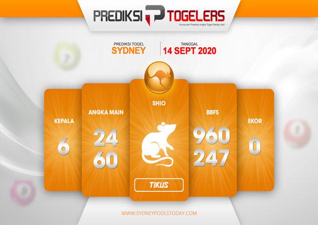 Kode syair Sydney Senin 14 September 2020 191