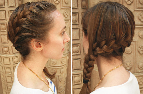 5 Easy Steps To A Side French Braid Women Base