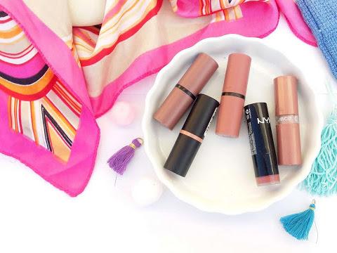 Five nude lipsticks to wear now