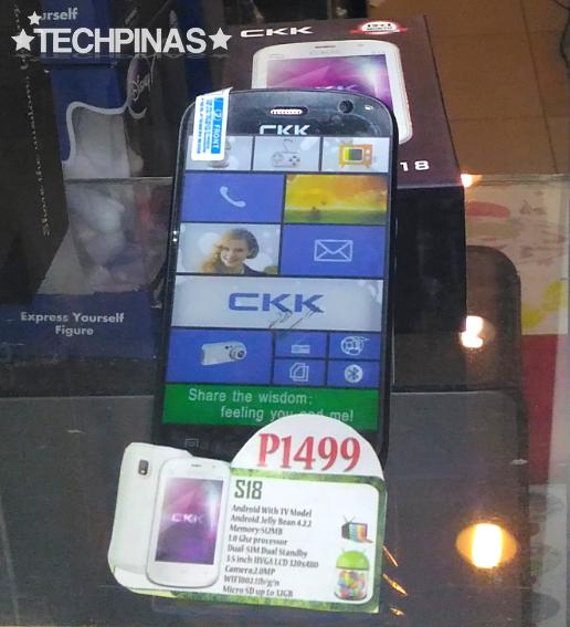 CKK Mobile S18, CKK Android Smartphone