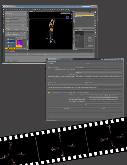Hologram Image Maker for Daz Studio