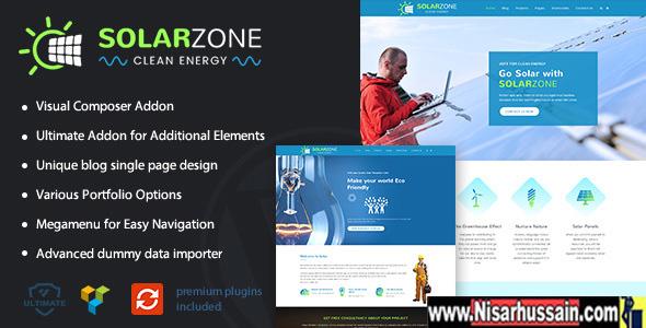 Solar Energy Premium Theme